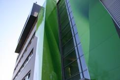 Fassadengestaltung Campus 21