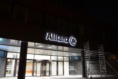 Werbeanlage Allianz