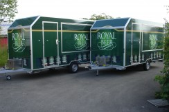 Vollbeklebung Royal Beer