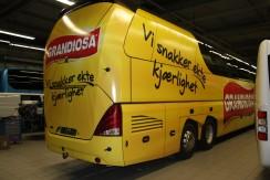 Vollbeklebung Bus Grandiosa