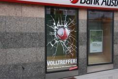 Bank Austria  Kampagnenbeklebung